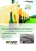 EPD - Isover CLIMAVER® A2 DECO