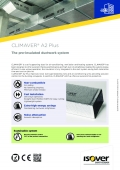 Technical Datasheet - Isover Climaver A2 Plus