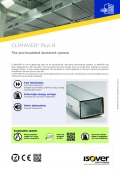 Technical Datasheet - Isover CLIMAVER Plus R